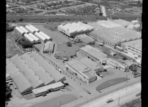 Industrial area, factories, Penrose, Auckland