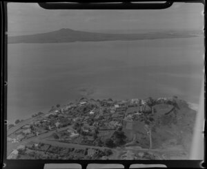 Glendowie, looking out towards Rangitoto Island, Auckland