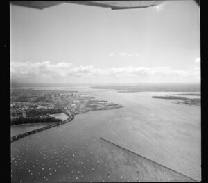Auckland wharves and Parnell
