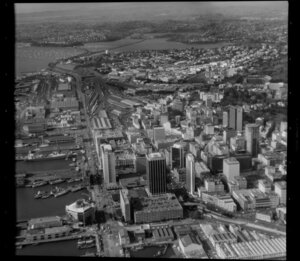 Auckland City Centre, Auckland, showing the waterfront