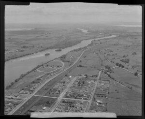 Huntly, Waikato District, including Waikato River
