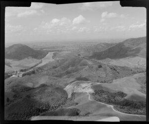Rural area, Huntly, Waikato District, including Waikato River