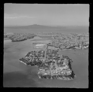 Stanley Bay, Auckland, including Rangitoto Island in the background