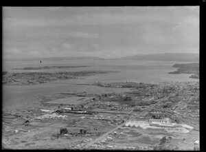 Onehunga, Auckland, showing Mangere Inlet