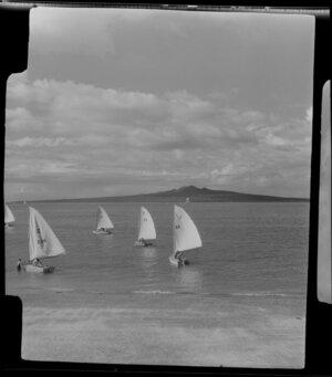 Yachting, 2nd Class, Tamaki, Auckland