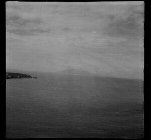 Little Barrier Island from Kawau Island, (Takatu Point)