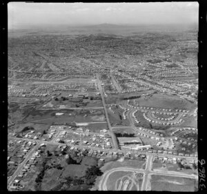 Mount Roskill, showing housing
