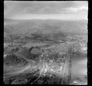 Manunui township, Ruapehu District