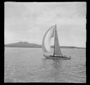 A27 yacht, yachting, Auckland Harbour Regatta