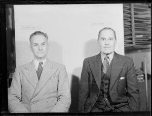 Mr H D Lylian and Mr A Hanna of New Zealand Civil Aviation