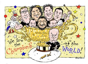 Hodgson, Trace, 1958- :'We are the champions of the world!' 23 October 2011