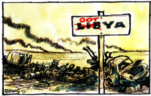 Evans, Malcolm Paul, 1945- :'GOTya'. 21 October 2011