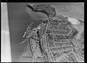 Devonport and the naval dockyards, Auckland
