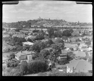 One Tree Hill, Auckland, looking from Mount St John