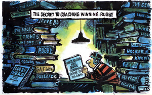 Evans, Malcolm Paul, 1945- :The secret to coaching winning rugby. 26 October 2011