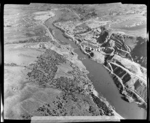 Roxburgh hydroelectric station, Clutha River, Otago