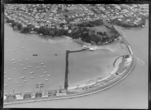 St Mary's Bay, future approach to Auckland Harbour Bridge