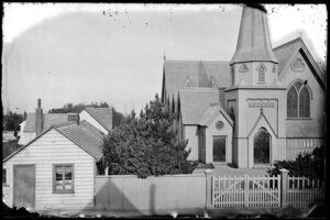 St Paul's Anglican Church in Mulgrave Street, Thorndon, Wellington
