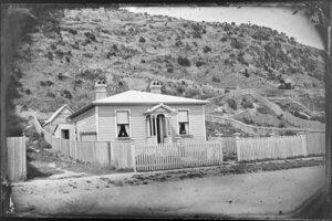 Single storied wooden house, Oriental Bay, Wellington