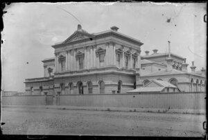 Exterior view of Supreme Court building, Stout Street, Wellington
