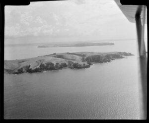 Tiritiri Matangi Island, Hauraki Gulf, Auckland, with Whangaparaoa Peninsula in the distance
