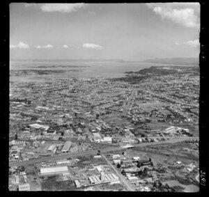 Penrose looking towards Onehunga, Auckland