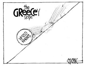 Winter, Mark 1958- :The GREECEy slope... 2 November 2011