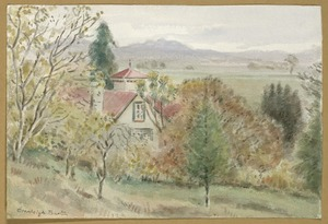 Barton, Cranleigh Harper, 1890-1975 :Surrey Downs, Pleasant Point. [ca 1950]