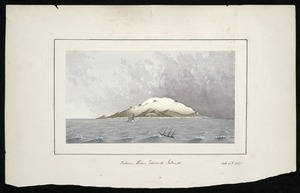 Artist unknown :Between Prince Edwards Islands, 1867