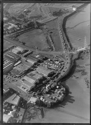 Warehouse buildings, Orpheus Drive, Onehunga, Auckland