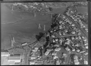 Beachcroft Ave and Church Street round-about, Onehunga, Auckland