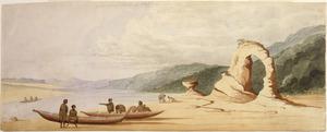Fox, William 1812-1893 :On the coast near Kai-terri-terri, Blind Bay. Jan. 1846