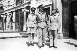 Senior officers of the 9 NZ Infantry Brigade in Trieste, Italy, World War 1939-1945