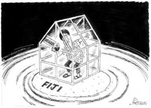 Evans, Malcolm, 1945- :Mugabe. Fiji. New Zealand Herald, 19 August 2002.