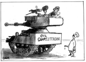 Evans, Malcolm, 1945- :Oilition. New Zealand Herald, 6 April 2003.