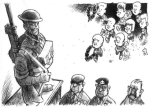 Evans, Malcolm 1945- :[Anzac day and the new generation]. New Zealand Herald, 25 April 2001.