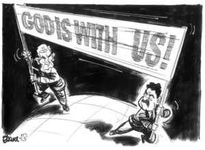 Evans, Malcolm, 1945- :God is with us! New Zealand Tablet, 17 March, 2003.