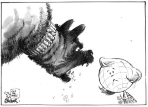 Evans, Malcolm, 1945- :Call the pound! New Zealand Herald, 10 February, 2003.