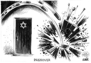 Evans, Malcolm 1945- :Passover. New Zealand Herald, 10 April 2001.