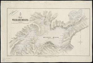 Plan of Waikaremoana [cartographic material].