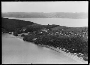 View of Cornwallis on Manukau Harbour, Waitakere City