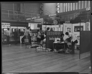 Aveee 1974 exhibition view of stalls
