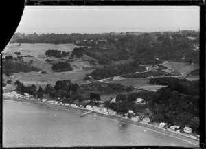 View of Orua Bay on Manukau Harbour, Waitakere City