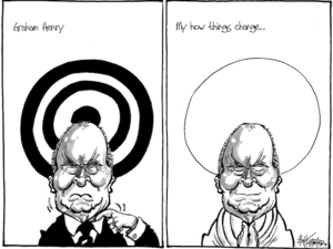 Graham Henry. My how things change... 1 December, 2008.