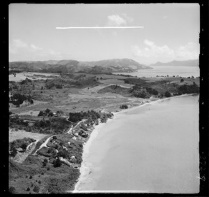View of Big Bay on Manukau Harbour, Waitakere City