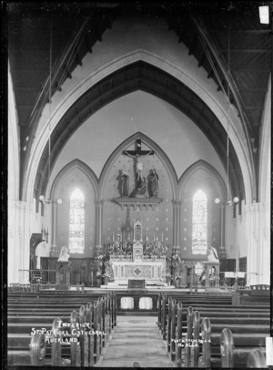 Interior of St Patrick's Cathedral, Auckland