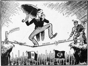 Angus, Don, fl 1939 :British prestige. Appeasement. 28 June 1939.