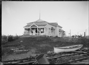 Tea kiosk building, Onehunga