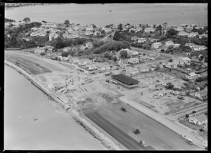 Toll plaza and administration building, Auckland Harbour Bridge