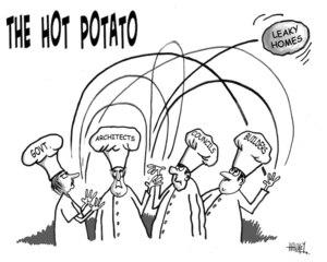 'THE HOT POTATO'. 'Leaky homes'. 1 July, 2008
